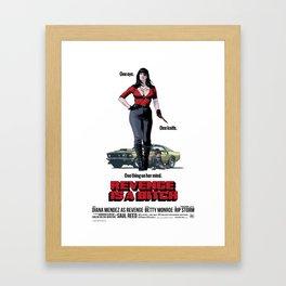 Revenge is a Bitch Framed Art Print