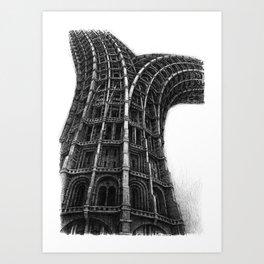 Hardfork 2018-07-12 Art Print