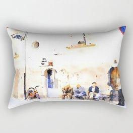 Vulture: senior citizens Rectangular Pillow