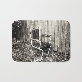 Discarded Bath Mat