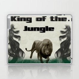 The King of The Jungle Laptop & iPad Skin