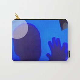Blue Blue Carry-All Pouch