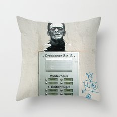 franky Throw Pillow