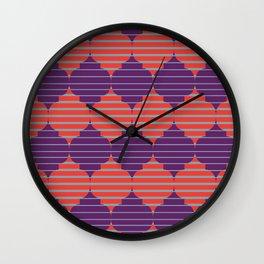 Morocco Neon Wall Clock
