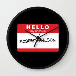 Robert Paulson Wall Clock