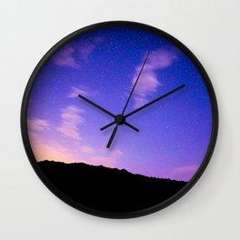 Milky Way Sun Rise Sky Wall Clock