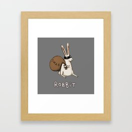 Robbit Framed Art Print