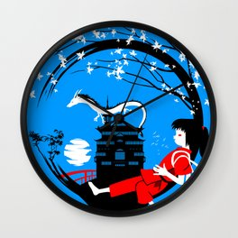 Circle Temple Wall Clock