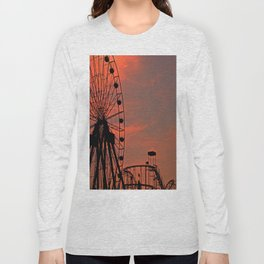 Sundown in Fun Town Long Sleeve T-shirt