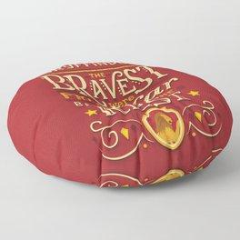 Bravery Floor Pillow