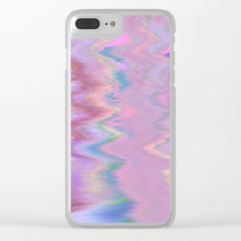 Abstract Sound Clear iPhone Case