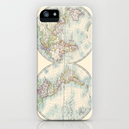 Hemispheres iPhone Case