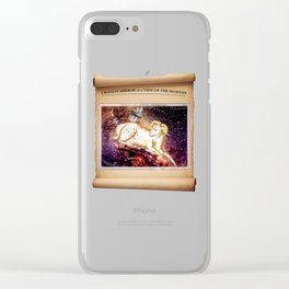 Urania's Mirror - Aries Clear iPhone Case