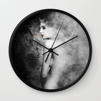 halo Wall Clocks featuring [Halo] by Mathias Rat