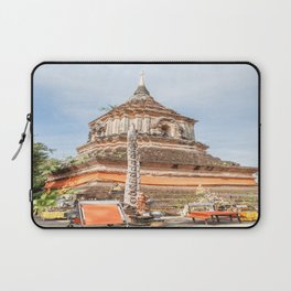 The Chedi of Wat Lok Molee, Chiang Mai, Thailand Laptop Sleeve