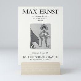 Advertisement max ernst estampes originales Mini Art Print