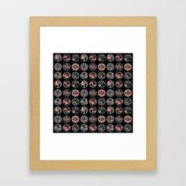 top pattern II Framed Art Print