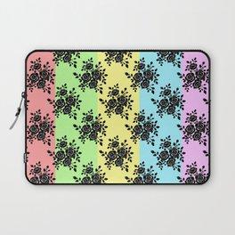 Rosy Black Laptop Sleeve