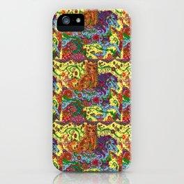 Purrfect Harmony iPhone Case