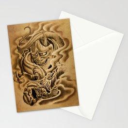 Hannya Dragon Stationery Cards