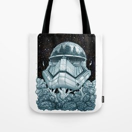 Stormtrooper Treehouse Tote Bag