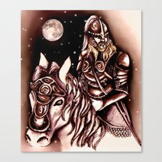 Eorlingas Canvas Print