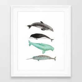 Too cute to be true Framed Art Print