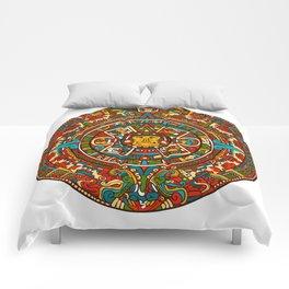 Aztec Mythology Calendar Comforters