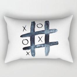 Noughts & crosses Rectangular Pillow