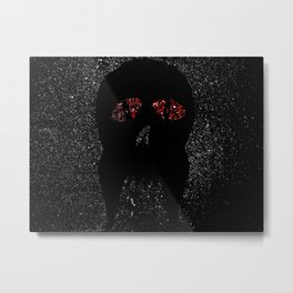 """""""Fangs"""" Red eyes Metal Print"""