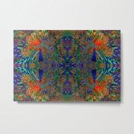 Cosmic peacock geometry IX Metal Print