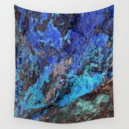 Malachite Mineral Stone rustic decor Wall Tapestry