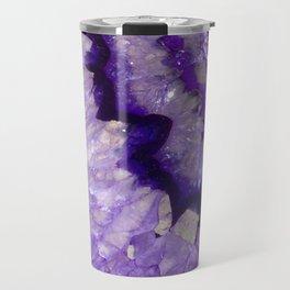 Purple Crystal Travel Mug