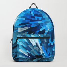 Extended Rectangles - Blue Backpack