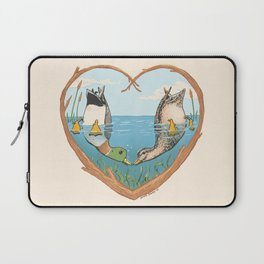 Duck Love Laptop Sleeve