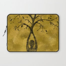 Tree pose Laptop Sleeve