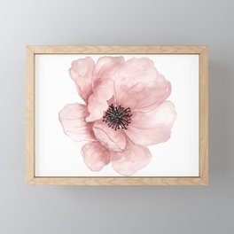 Flower 21 Art Framed Mini Art Print