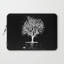 Tree with flowers in spring Laptop Sleeve
