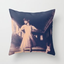 Rabbit Of A Different Color Throw Pillow