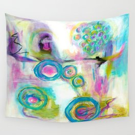 Driven To Distraction, Abstract Landscape Art Wall Tapestry