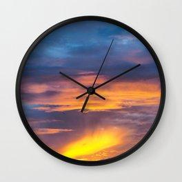 Coromandel Sunset II Wall Clock