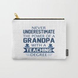 Grandpa Teacher Carry-All Pouch