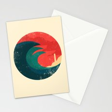The wild ocean Stationery Cards