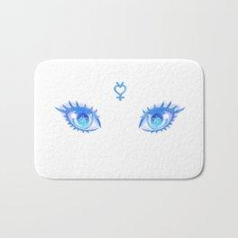 Sailor Mercury Eyes Bath Mat