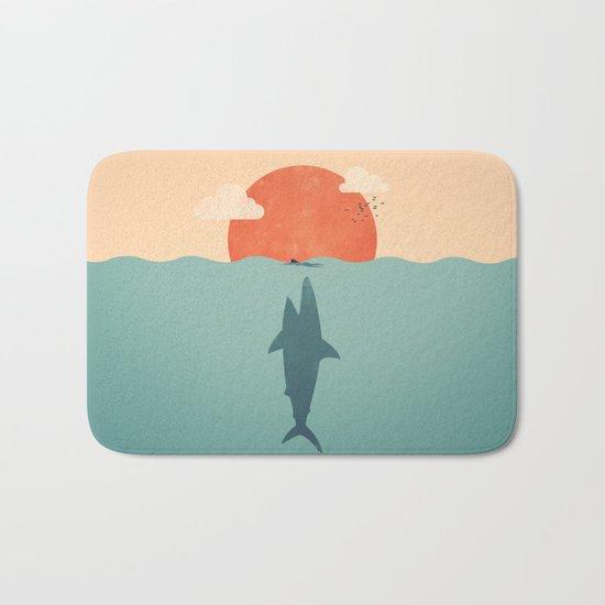 Shark Attack Bath Mat