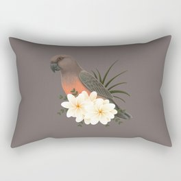 Red-bellied Parrot [male] Rectangular Pillow