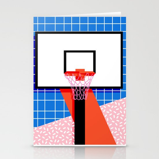 Baller memphis retro grid neon pattern minimal for Minimal art neon