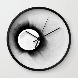 1919 Solar Eclipse Wall Clock