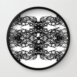 The Veil Wall Clock