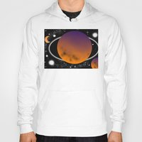 planets Hoodies featuring planets by lescapricesdefilles